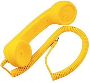 Handset to connect with mobile phones