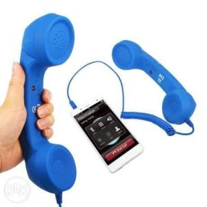 Handset receiver for mobile phones to reduce mobile radiation