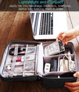 Minimalism electronics organizer bag