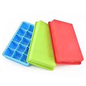 Pack of 3 ice cube trays