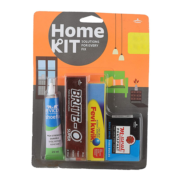 Multipurpose home kit with rust remover