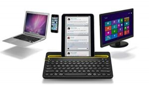 logitech's wireless bluetoothkeyboard connect with multiple devices