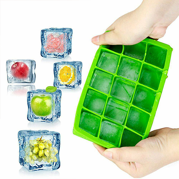 Silicon ice cube trays